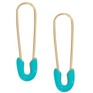 Lucky Brand Safety Pin Earrings